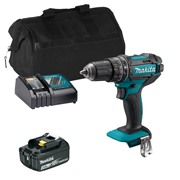 Makita DHP484ITS 18v LXT Brushless Combi Drill with 1 x 3Ah Battery, Charger and Bag