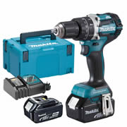 Makita DHP484RMJ Makita 18v Li-ion 4.0Ah Brushless Hammer Drill Driver