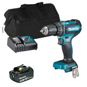 Makita DHP485ITS 18v LXT Brushless Combi Drill with 1 x 3Ah Battery, Charger and Bag