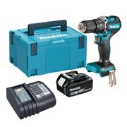 Makita DHP487 Makita DHP487 18V LXT Brushless Combi Drill with 1x 6.0Ah Battery, Charger & Case