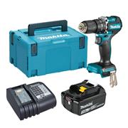 Makita DHP487 Makita DHP487 18V LXT Brushless Combi Drill with 1x 3.0Ah Battery, Charger & Case