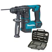 Makita DHR171KIT 18v LXT Brushless SDS+ Drill with 17 Piece Accessory Pack