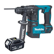Makita DHR171Z5 Makita 18v Li-ion Brushless SDS+ Drill Rotary Hammer + 1 x 5.0Ah Battery