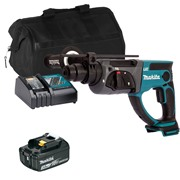 Makita DHR202ITS Makita DHR202ITS 18V LXT SDS+ Drill with 1 x 3Ah Battery, Charger and Bag