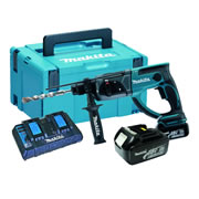 Makita DHR202KIT 18v Li-ion SDS+ Hammer Drill Ki c/w 2 x 3ah Batteries