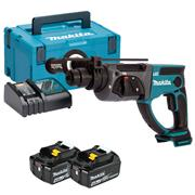 Makita DHR202RMJ Makita DHR202RMJ 18V LXT SDS+ Drill with 2 x 4Ah Batteries, Charger and Case