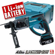 Makita DHR202RMX Makita 18v Li-ion SDS+ Hammer Drill