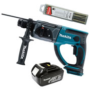 Makita DHR202Z3 Makita 18v Li-ion SDS+ Drill Body + 1 x 3.0Ah Battery