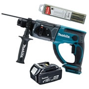 Makita DHR202Z4 Makita 18v Li-ion SDS+ Drill Body + 1 x 4.0Ah Battery