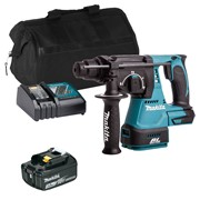 Makita DHR242ITS Makita DHR242ITS 18V LXT Brushless SDS+ Drill with 1 x 3Ah Battery, Charger and Bag