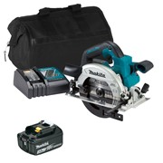 18v LXT Brushless 165mm Circular Saw with 1 x 3Ah Battery, Charger and Bag