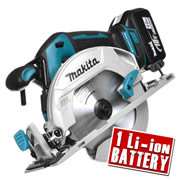 Makita DHS680Z4 Makita 18v Li-ion Brushless Circular Saw 165mm Body + 1 x 4.0Ah Battery