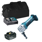 Makita DJN161ITS 18v LXT 1.6mm Nibbler with 1 x 3Ah Battery, Charger and Bag
