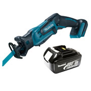Makita DJR183Z3 Makita Li-ion 18v Reciprocating Saw Body + 3.0Ah Battery