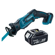 Makita DJR183Z4 Makita Li-ion 18v Reciprocating Saw Body + 4.0Ah Battery