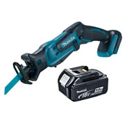 Makita DJR183Z5 Makita Li-ion 18v Reciprocating Saw Body + 5.0Ah Battery