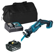 Makita DJR185ITS Makita DJR185ITS 18V LXT Reciprocating Saw with 1 x 3Ah Battery, Charger and Bag