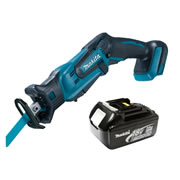 Makita DJR185Z3 Makita Li-ion 18v Reciprocating Saw Body + 3.0Ah Battery