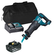 Makita DJR187ITS Makita DJR187ITS 18V LXT Brushless Reciprocating Saw with 1 x 3Ah Battery, Charger and Bag