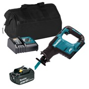Makita DJR188ITS Makita DJR188ITS 18V LXT Brushless Reciprocating Saw with 1 x 3Ah Battery, Charger and Bag