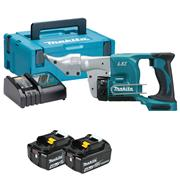 Makita DJS130RMJ 18v LXT Shear with 2 x 4Ah Batteries, Charger and Case
