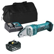 Makita DJS161ITS 18v LXT Straight Shear with 1 x 3Ah Battery, Charger and Bag