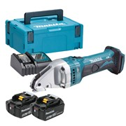 Makita DJS161RTJ Makita DJS161RTJ 18V LXT Straight Shear with 2 x 5Ah Batteries, Charger and Case