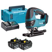 Makita DJV180RMJ 18v LXT Jigsaw with 2 x 4Ah Batteries, Charger and Case