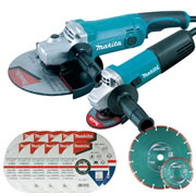 Makita DK0004KIT Makita 115mm & 230mm Grinder Kit