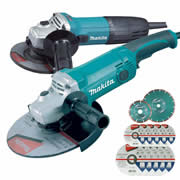 Makita DK0004KIT Makita 115mm & 230mm Grinder Package