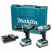 Makita DK18015X1 Makita G Series 18v Cordless 2 Piece Kit