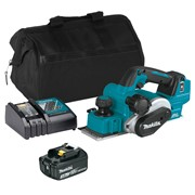 Makita DKP181ITS 18v LXT Brushless Planer with 1 x 3Ah Battery, Charger and Bag