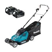 Makita DLM432CT2 Makita DLM432CT2 Cordless 43cm Lawnmower With 2x 5Ah Batteries