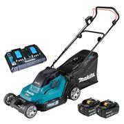 Makita DLM432PT2 Makita DLM432PT2 36V (Twin 18V) LXT 43cm Lawnmower - with 2x 5Ah Batteries & Charger