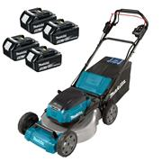 Makita DLM532PT4 Makita DLM532PT4 36V (Twin 18V) LXT Cordless 53cm Lawnmower With 4x 5Ah Batteries