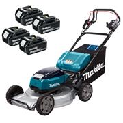 Makita DLM533PT4 Makita DLM533PT4 36V (Twin 18V) LXT Cordless 53cm Lawnmower With 4x 5Ah Batteries