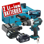 Makita DLX2005KIT Makita 18v Li-ion 2 Piece Kit