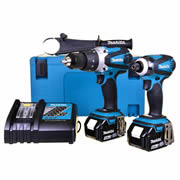 Makita DLX2005TJ Makita 18v Li-ion 2 Piece Kit