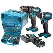 Makita DLX2131KIT Twin Pack With Accessory Kit