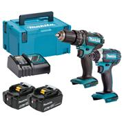 Makita DLX2131TJ Makita 18v Li-ion 2 Piece Kit