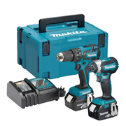 Makita DLX2173RJ Makita 18v Li-ion 3.0Ah Brushless 2 Piece Kit