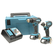 Makita DLX2KIT 18v Li-ion 2 Piece Kit