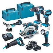 Makita DLX6100TJ Brushless 6 Piece Kit