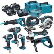 Makita DLX8100TJ Brushless 8 Piece Kit