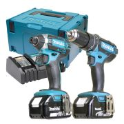 Makita DLXMJ2 Makita 18v Li-ion 4.0Ah 2 Piece Kit