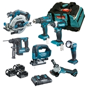 Makita DLXTOP7 7 Piece Brushless Kit