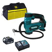 Makita DMP180 18V LXT Cordless Inflator with 1 x 3Ah Battery, Charger and Tool Bag