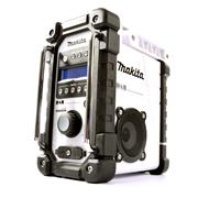 Makita DMR109W DAB Job Site Radio - White