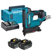 Makita DPT353RTJ 18v LXT Pin Nailer with 2 x 5Ah Batteries, Charger and Case
