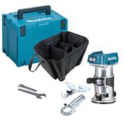Makita DRT50ZJ Makita 18v Cordless Brushless Router/Trimmer - Body & Case